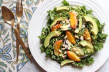 Peach & Avo Kale Salad