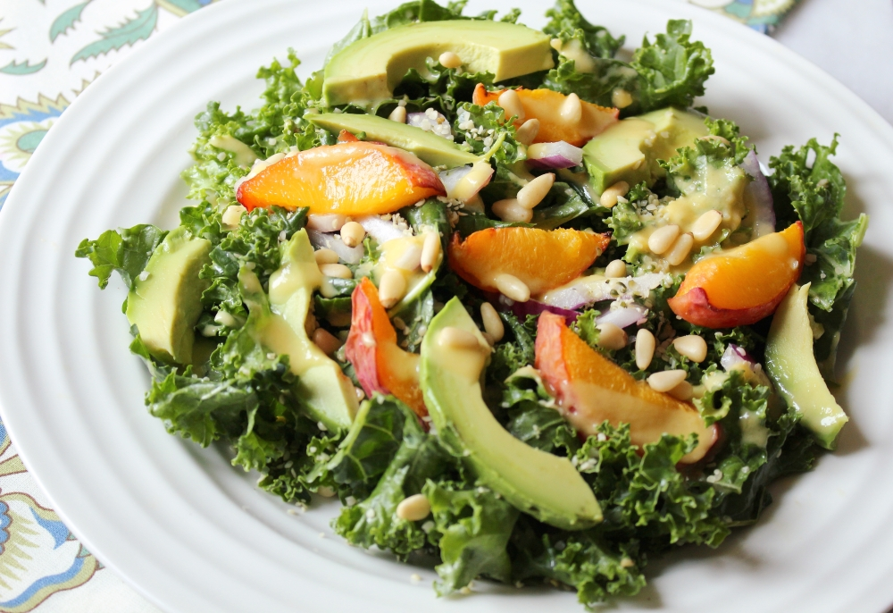 Peach & Avo Salad